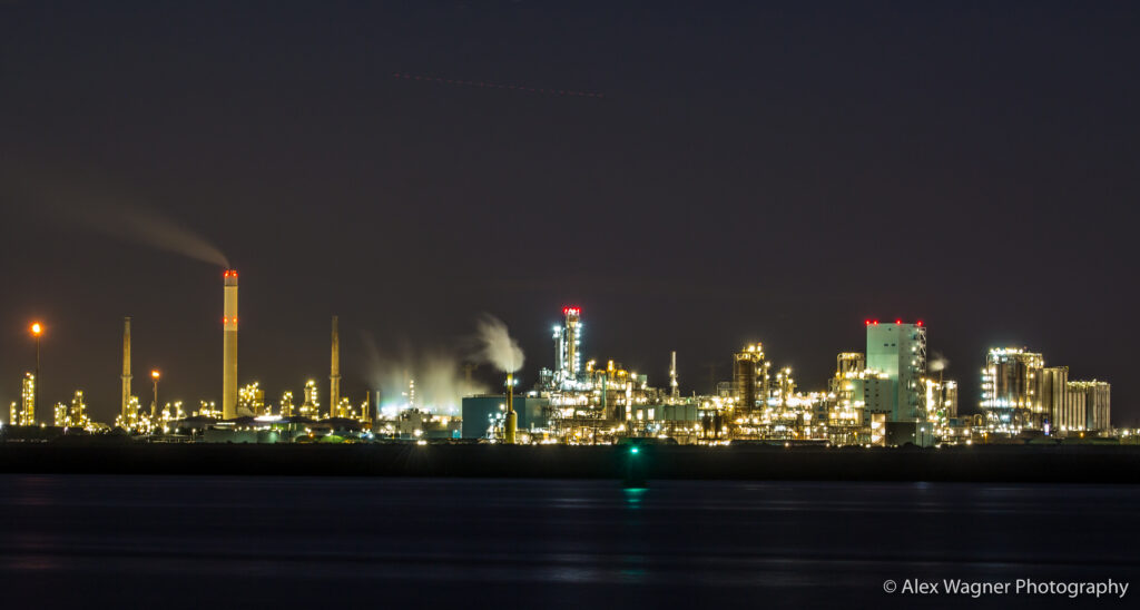 Hoek van Holland Hafen Nacht